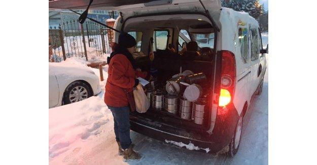 Yakacak Ve Gıda Yardımı Evlere Ulaştı