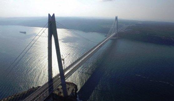 Yavuz Sultan Köprüsü bugün açılıyor