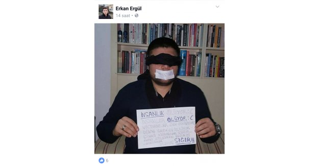 Yazarımız'dan Yaşananlara Anlamlı Tepki!.