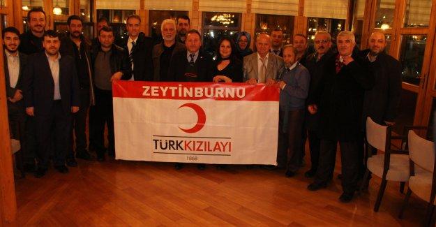 Zeytinburnu Kızılay Yönetimi Basın İle Bir Araya Geldi