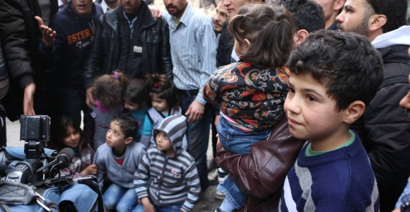 Zeytinburnu'nda Suriye' li gerginliği
