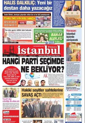 İstanbul Times - Anında Haberin Merkezi - 05.05.2015 Manşeti