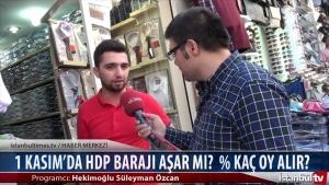 1 Kasım'da HDP Barajı Aşar mı % Kaç Oy Alır?