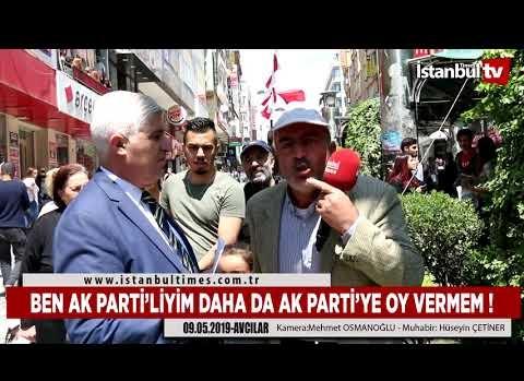 BEN AK PARTİ'LİYİM DAHA DA AK PARTİ'YE OY VERMEM !