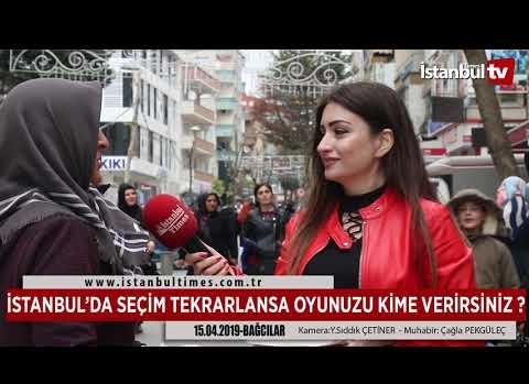 İSTANBUL'DA SEÇİM TEKRARLANSA OYUNUZU KİME VERİRSİNİZ ?
