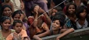 Arakanlı Müslümanlar günlerdir bir gemide aç: 10 ölü