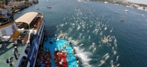 Boğaz'dan 2 Bin 180 Yüzücü Geçti