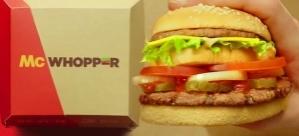 Burger King'ten Barış İçin Büyük Adım: McDonald's'a Ateşkes İçin McWhoper Teklif Etti