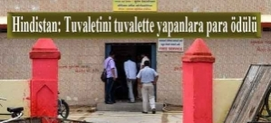Hindistan: Tuvaletini tuvalette yapanlara para ödülü