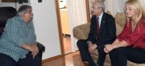 Kılıçdaroğlu'ndan Arif Sağ'a taziye ziyareti