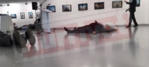 Rusya Büyükelçisi Ankara'da silahlı suikasta uğradı