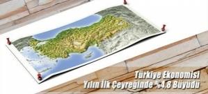 Türkiye Ekonomisi Yılın İlk Çeyreğinde 4,8 Büyüdü