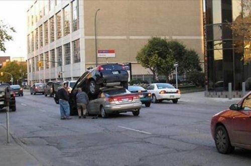 ilginç bulunan trafik kazaları