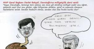 MHP'DEN KARİKATÜRLÜ SEÇİM KAMPANYASI...