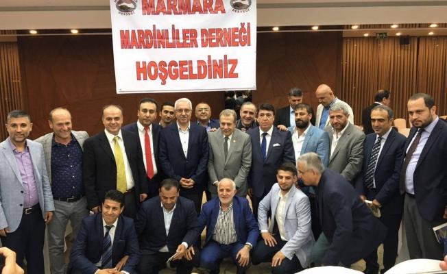 Marmara Mardinliler Derneği İftarda Bir Araya geldi