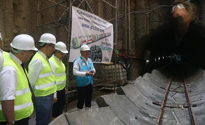"""Yerli Üretim """"Köstebek"""", İstanbul'daki İlk İçme Suyu Tüneli'ni Kazacak"""