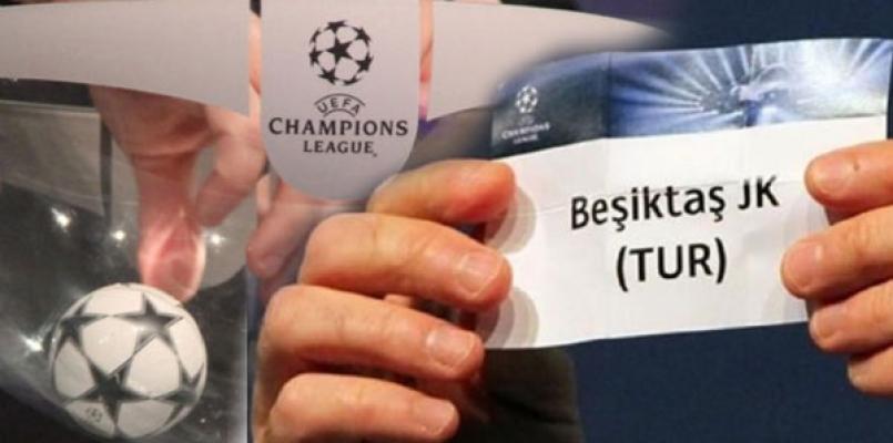 Beşiktaş' ın Şampiyonlar Ligi' ndeki rakipleri belli oldu