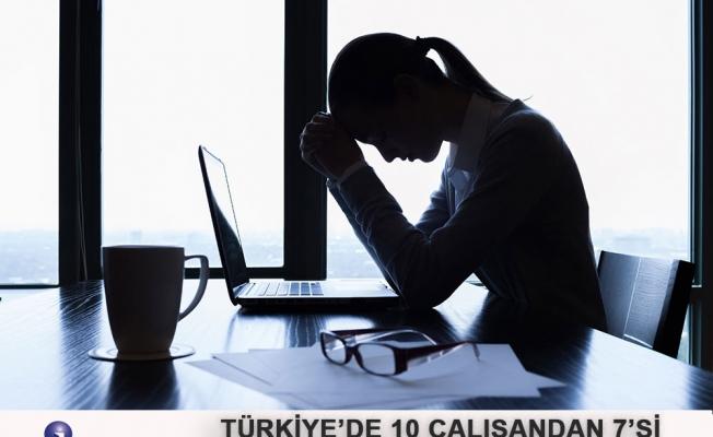Türkiye'de 10 Çalışandan 7'si İşe Gitmek İstemiyor