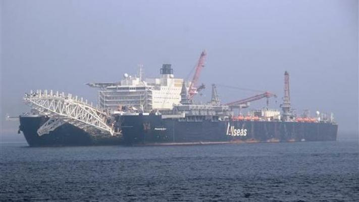 Dünyanın En Büyük İnşaat Gemisi Çanakkale Boğazı'ndan Geçti