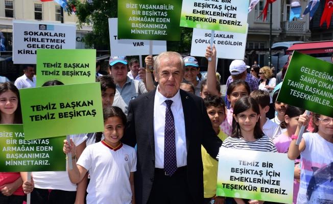 Beşiktaş Dünya Çevre Günü'nü Kutladı