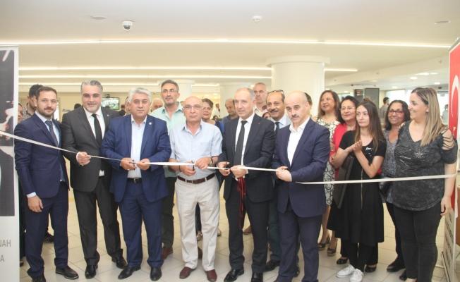 Kartal Halk Eğitim Merkezinin'nin Yılsonu Resim Sergisi Açıldı