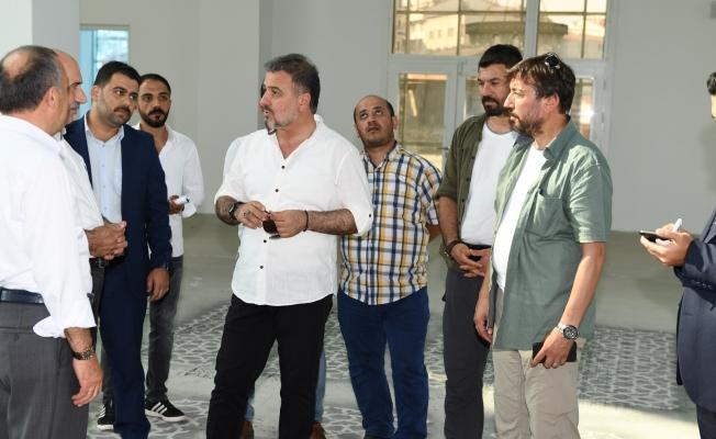Kıraç Merkez Camii hizmete açılıyor