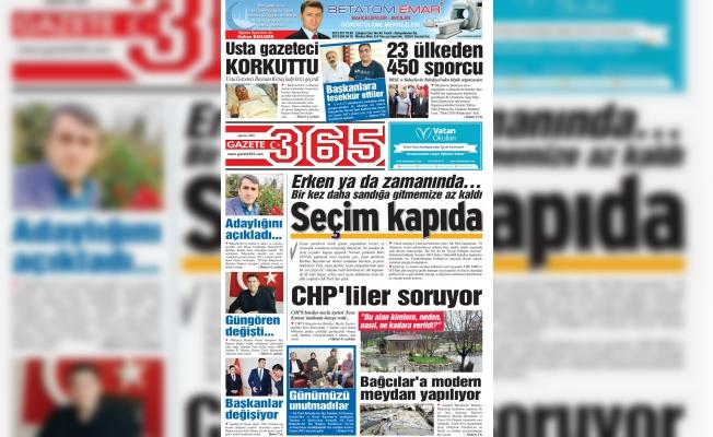 Gazete 365' in Patronu Aykut Kaya oldu