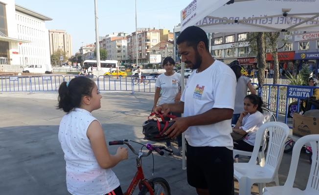 Zeytinburnu'nda Herkes Bisiklet Sürebilecek