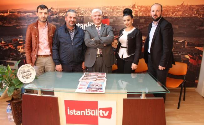 Delibalta'nın ekibinden gazetemize ziyaret