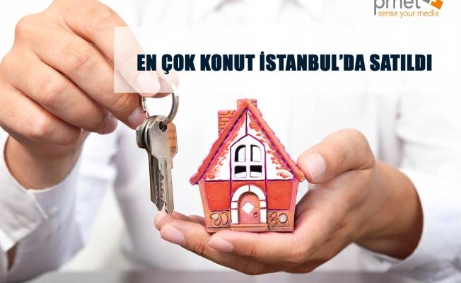 En Çok Konut İstanbul'da Satıldı
