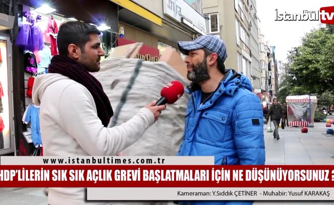 HDP'lilerin sık sık açlık grevi yapması
