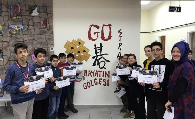"""Enderunlu öğrenci Go Turnuvası'nda """"Savaşçı Ruh"""" madalyası kazandı"""
