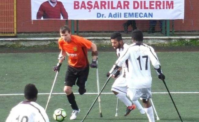 İstanbul derbisinde İSÖS Yeditepe Ampute dostça