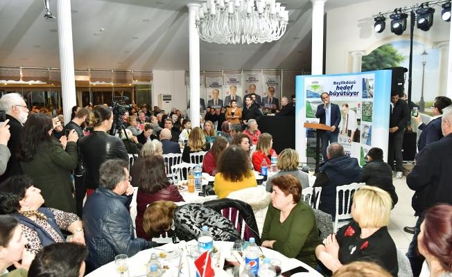 Balkan Türklerinden Çalık'a coşkulu karşılama