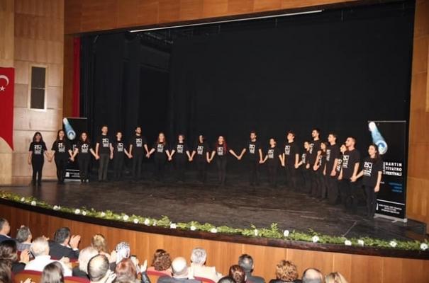 Bartın Tiyatro Festivali başladı