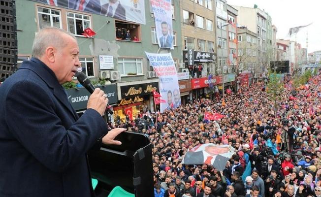 Başkan Erdoğan'da Kağıthane'de önemli açıklamalar