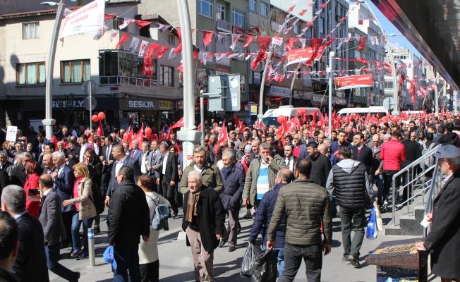 Dr.Adil Emecan Halk Yürüyüşü Yaptı