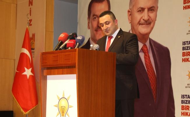 Halis Özgenç'in aday tanıtım toplantısı Muhteşem oldu