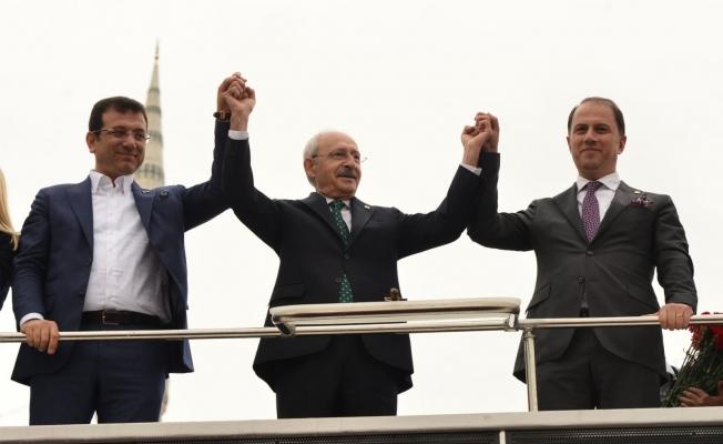 Kılıçdaroğlu ve İmamoğlu'dan Çalık'a Destek