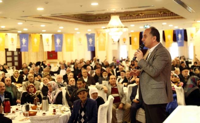 Lokman Çağırıcı'dan yaşlılara Yaşlı Bakım Merkezi müjdesi