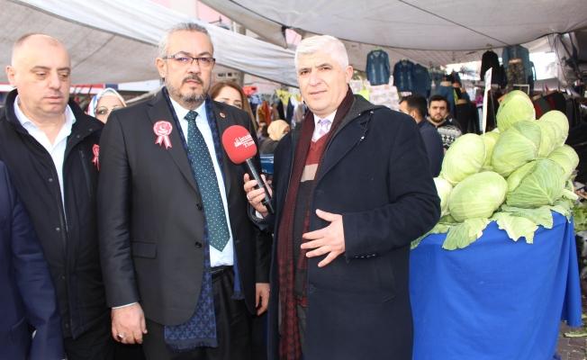 SP.Zeytinburnu Adayı Dr. Mikail Kabak seçimi biz alacağız diyor