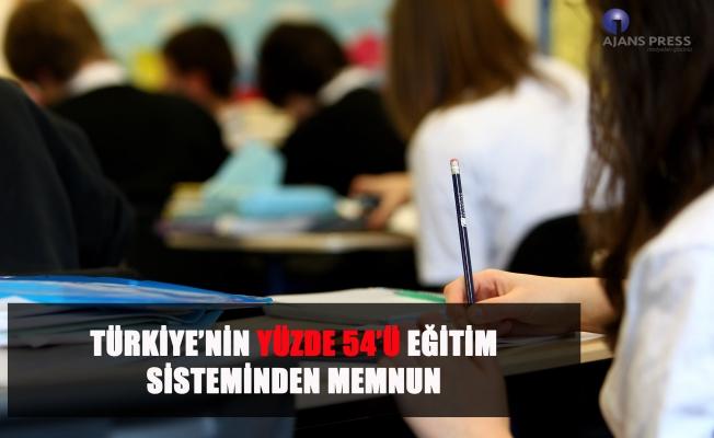 Türkiye'nin memnuniyet oranı yüzde 54