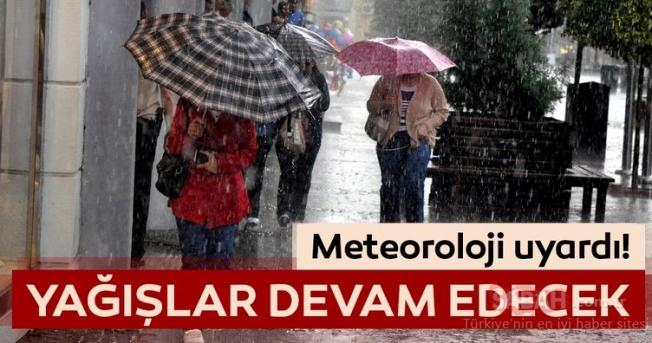 Meteoroloji'den son dakika hava durumu ve yağış uyarısı geldi!