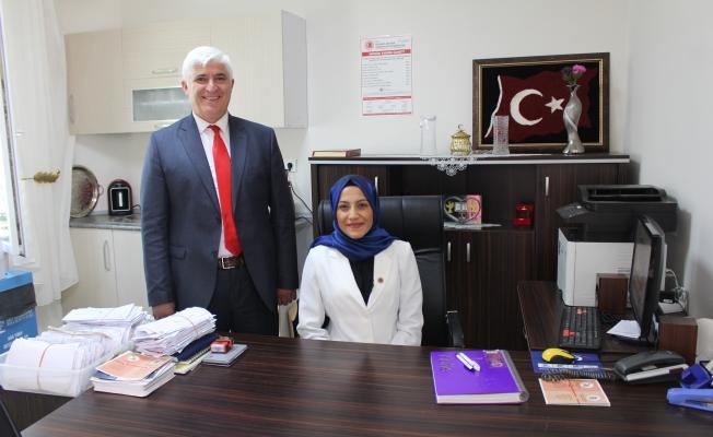 İstanbul'un en genç Kadın Muhtarı GÜNDEM'in konuğu oldu