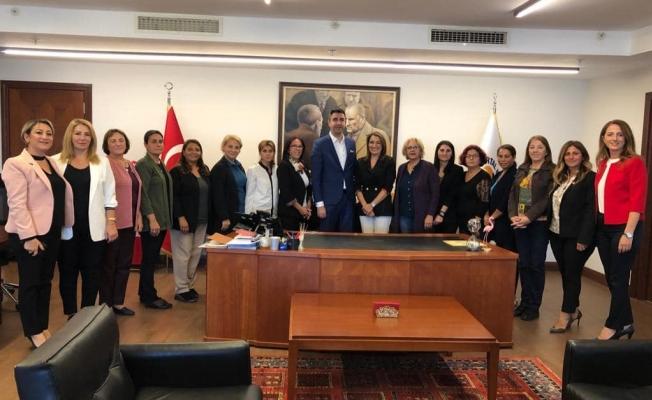 CHP Kadın Kollarından Başkan Gökhan Yüksel'e ziyaret