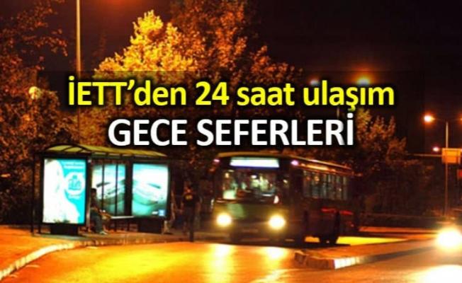 İETT' den Gece Ulaşımına Sefer Ve Araç Takviyesi