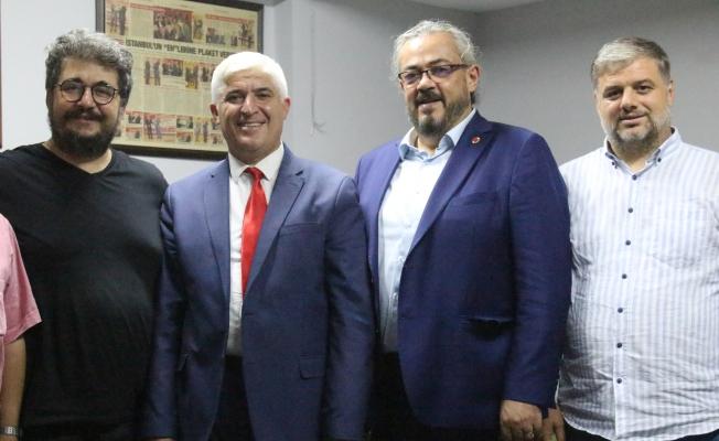 Saadet Partisi Zeytinburnu'nda Gazetemize Ziyaret