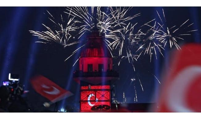 Cumhuriyet Bayramı İstanbul Genelinde Coşkuyla Kutlandı