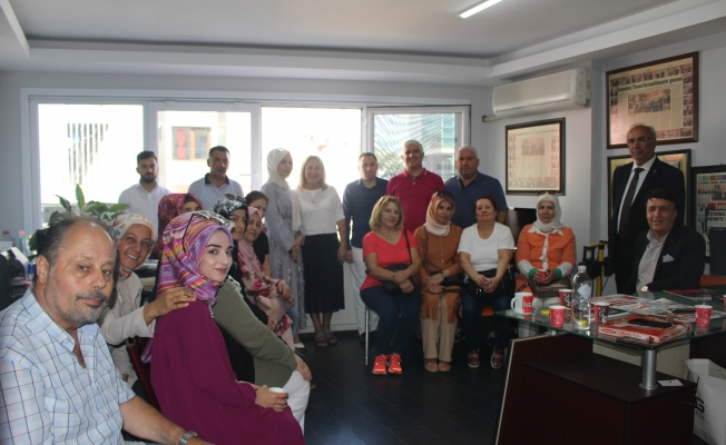 Doğu Anadolu Derneğinden Yeni Ofisimize Ziyaret
