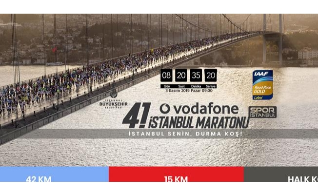 Vodafone 41. İstanbul Maratonu Halk Koşusu Kayıtları Başladı